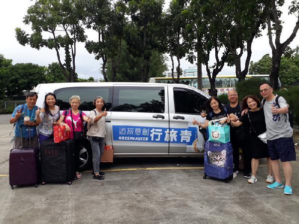 香港旅客 搭星夢郵輪 高雄包車旅遊