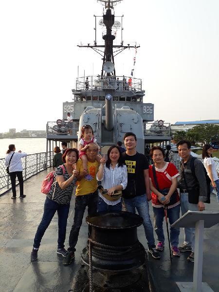 香港旅客 台南七股鹽山旅遊