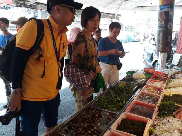 大陸廣西旅客 台灣自由行六日遊